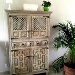 armoire badigeon