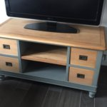 Relooking de meubles en bois : meuble TV