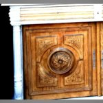 buffet Henri II sculpture de la porte