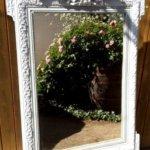 Relooking de meubles en bois : miroir relooké