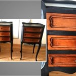 Tables de nuit en bois