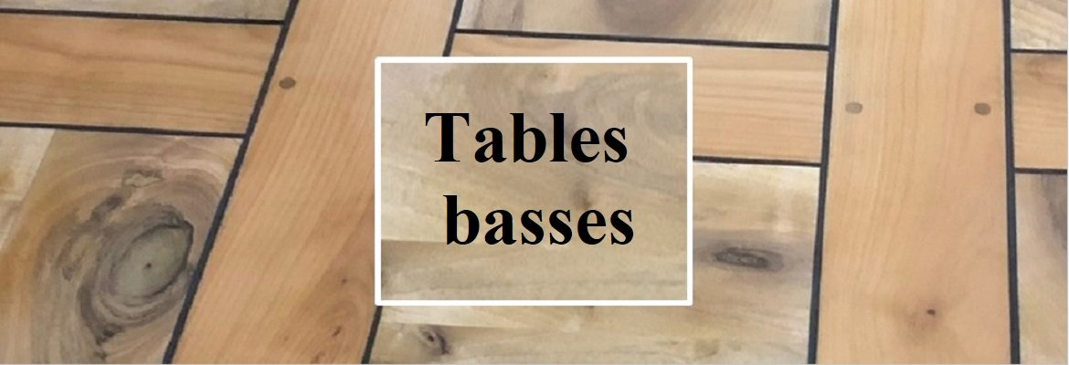 Relooking de tables basses