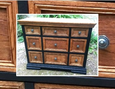 Relooking d'une commode à tiroirs