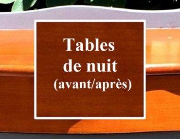 Relooking de tables de nuit