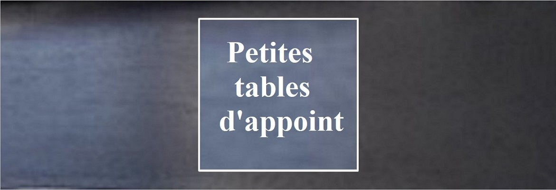 Relooking de tables d'appoint