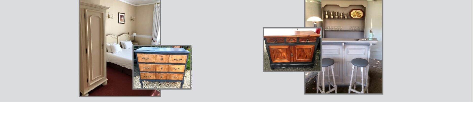 vente de meubles restaurés