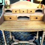 Relooking de petits bureaux en bois