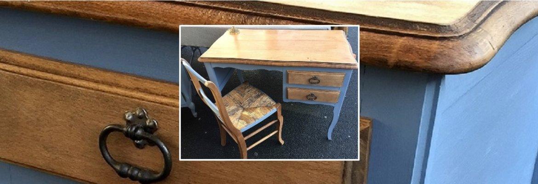 Relooking d'un petit bureau et sa chaise