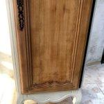 Bonnetière ancienne bois sablé