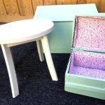 meubles de chambre d'enfant couleurs pastel