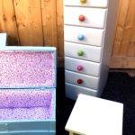 meubles de chambre d'enfant coffre semainier