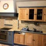Relooking d'une cuisine en bois