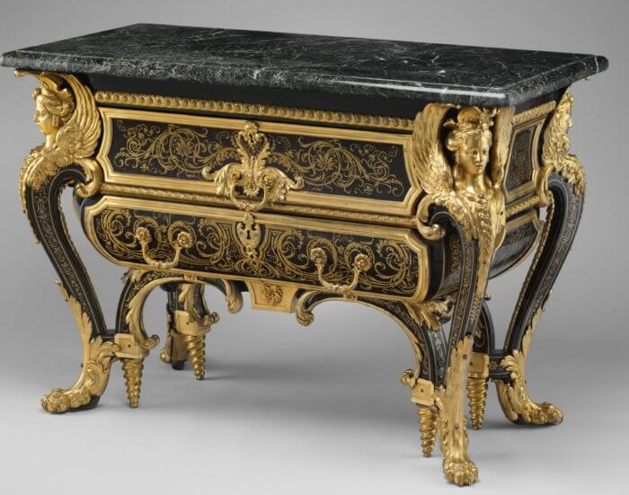 Commode attribuée à  Boulle, Grand Trianon
