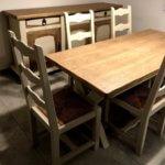 Relooking de meubles de salle à manger