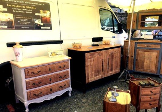 Relooking meuble ancien Maine-et-Loire