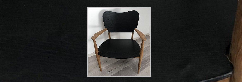 Relooking d'un fauteuil en bois