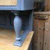 Buffet 2 corps gris bleuté