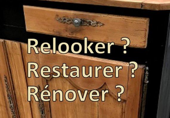 relooler restaurer rénover