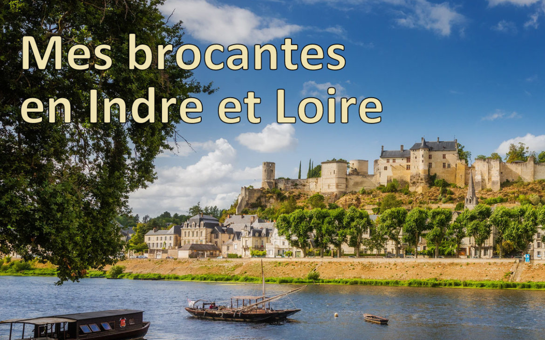 Brocantes en Indre-et-Loire
